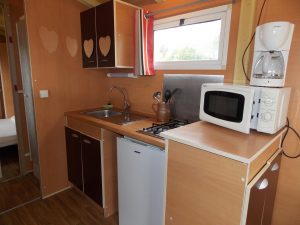 Roulotte - Kitchenette - Haut Village